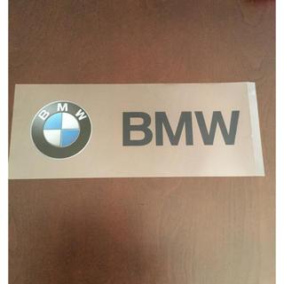 ビーエムダブリュー(BMW)のBMWステッカー(車外アクセサリ)