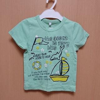 シマムラ(しまむら)のキッズ服 女の子 Tシャツ 100 イルカ柄(Tシャツ/カットソー)