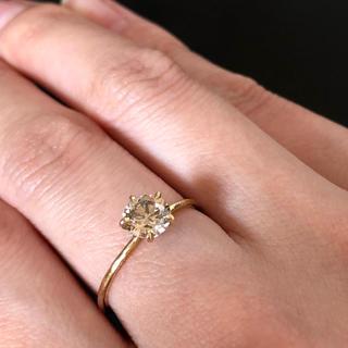 アガット(agete)のnoguchi ブラウンダイヤモンド リング(リング(指輪))