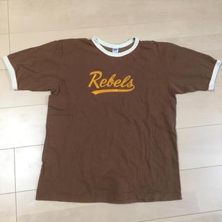 ダブルワークス(DUBBLE WORKS)のダブルワークス REBELS リンガー半袖Tシャツ ウエアハウス(Tシャツ/カットソー(半袖/袖なし))