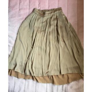 バビロン(BABYLONE)のバビロン ♡ サテンスカート(ひざ丈スカート)