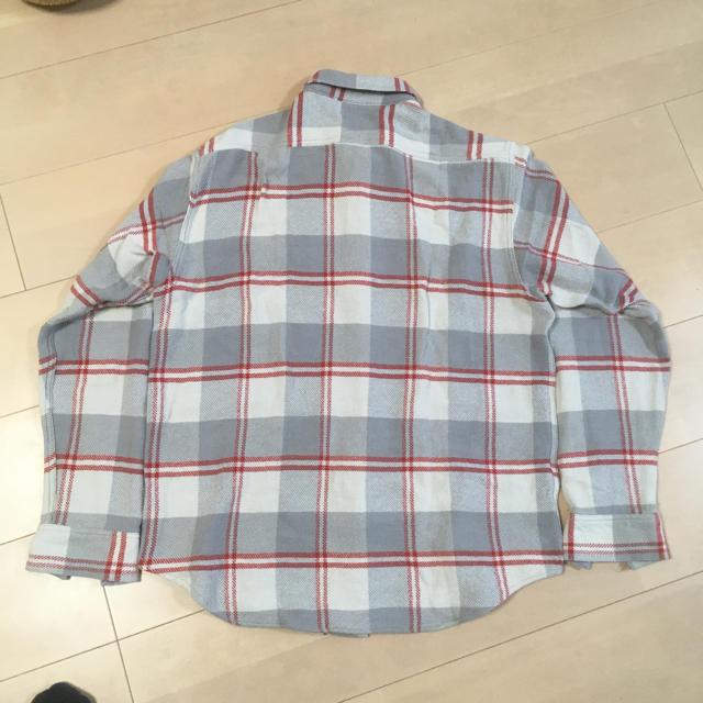 Sugar Cane(シュガーケーン)のシュガーケーン ネルシャツ グレー赤 メンズのトップス(シャツ)の商品写真
