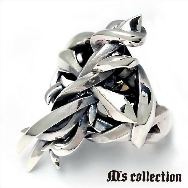 M's collection(エムズコレクション)のkazumiwa様専用 エムズコレクション クロス リング 11号 フリーサイズ メンズのアクセサリー(リング(指輪))の商品写真