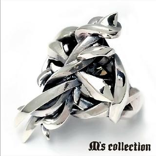 エムズコレクション(M's collection)のkazumiwa様専用 エムズコレクション クロス リング 11号 フリーサイズ(リング(指輪))
