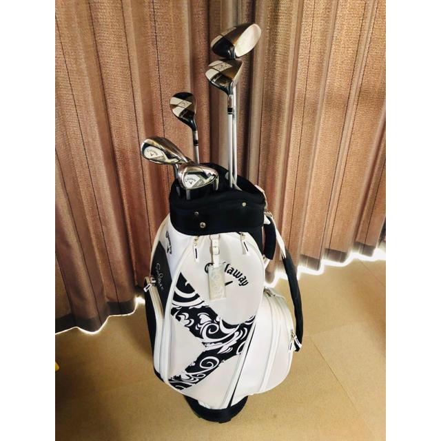 Callaway Golf(キャロウェイゴルフ)のキャロウェイゴルフ ソレイユクラブセットレディース スポーツ/アウトドアのゴルフ(クラブ)の商品写真