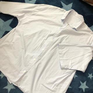 ジーユー(GU)のgu 半袖シャツ ブルー(シャツ/ブラウス(半袖/袖なし))