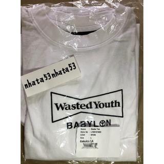 バビロン(BABYLONE)のL サイズ Wasted Youth Babylon Tee Tシャツ T(Tシャツ/カットソー(半袖/袖なし))