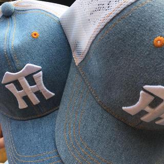 ハンシンタイガース(阪神タイガース)のツヨツヨ0244様専用♪阪神タイガース 限定 キャップ 帽子 2個セット(応援グッズ)
