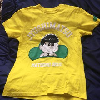 シマムラ(しまむら)のおそ松さんTシャツ  十四松(キャラクターグッズ)
