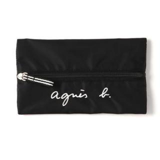 アニエスベー(agnes b.)の新品 agnes b.ロゴ刺繍ペンケース(ペンケース/筆箱)
