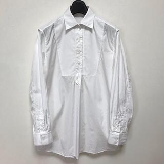 890b4e11c5756 セリーヌ(celine)のセリーヌ タキシード シャツ プルーオーバー オーバーサイズ シャツ ブラウス(シャツ