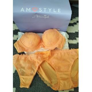 アモスタイル(AMO'S STYLE)の新品★アモスタイル♡下着セット(ブラ&ショーツセット)