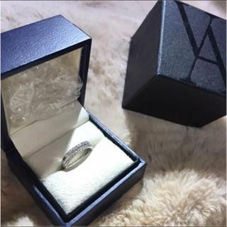 ヴァンドームアオヤマ(Vendome Aoyama)のヴァンドーム青山 ダイヤモンド0.39ct Pt950 ピンキーリング(リング(指輪))