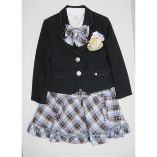 db5c4b7926b4e エル(ELLE)の♯0369・ELLE en noir 女の子 スーツ 120サイズ 4