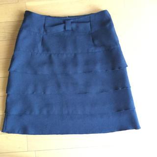 膝丈 スカート(ひざ丈スカート)
