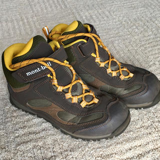 mont bell - mont-bell キッズ 登山靴 23.0