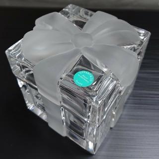 ティファニー(Tiffany & Co.)のティファニー クリスタルボックス(小物入れ)