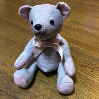 バーバリー(BURBERRY)のBurberry バーバリー  ❤️  テディベアぬいぐるみ(ぬいぐるみ)