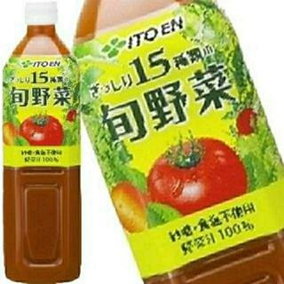 伊藤園 - 【特売】伊藤園 野菜ジュース ぎっしり15種類の旬野菜 900g 12本セット