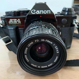 キヤノン(Canon)のCanon 一眼レフフィルムカメラ AE-1 PROGRAM(フィルムカメラ)