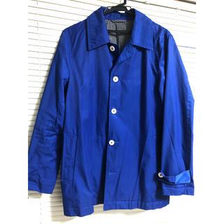 ウィゴー(WEGO)のりょーじさん専用 スプリングコート ブルー(ステンカラーコート)