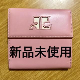 Courreges - courreges(クレージュ) 財布 美品 新品未使用