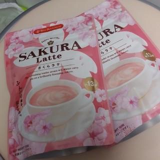 カルディ(KALDI)のカルディ 桜ラテ 2つ(コーヒー)