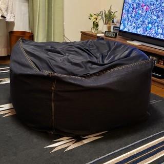 ムジルシリョウヒン(MUJI (無印良品))のゆき様専用 無印良品 体にフィットするソファ(ビーズソファ/クッションソファ)