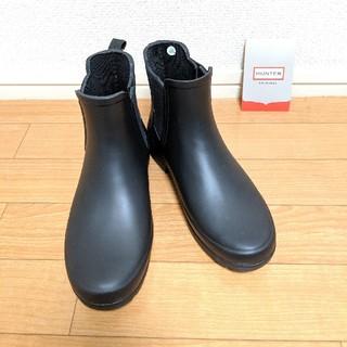 ハンター(HUNTER)のHUNTER サイドゴアレインブーツ UK3/22センチ(レインブーツ/長靴)