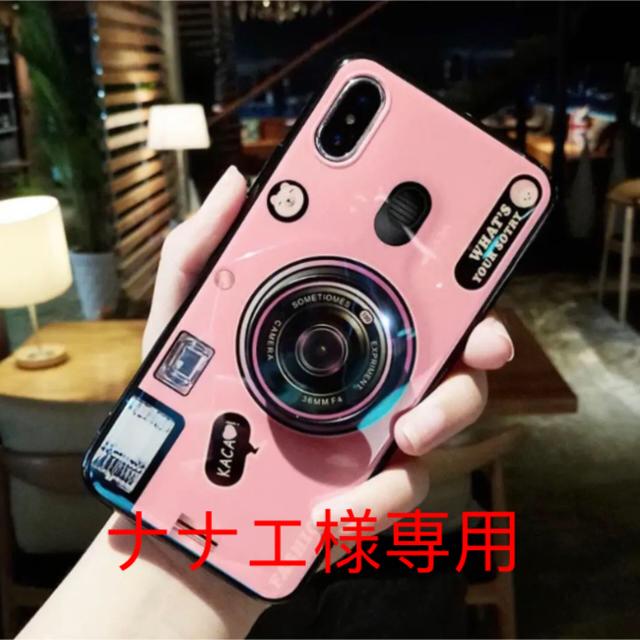 プラダ iphone8plus カバー 人気 | iPhone XR ケース カメラ型 ピンクの通販 by iAQ |ラクマ