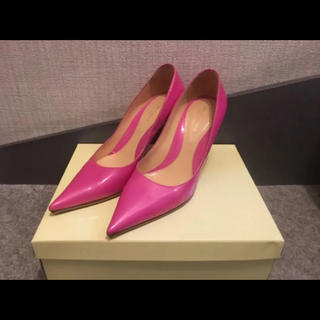 セルジオロッシ(Sergio Rossi)のセルジオロッシ 美品 パンプス ダイアナ ランバン フェラガモ フェンディ 靴(ハイヒール/パンプス)
