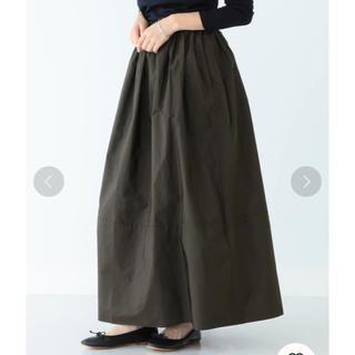 デミルクスビームス(Demi-Luxe BEAMS)の専用 Demi-Luxe BEAMS ウエストギャザー タフタロングスカート(ロングスカート)