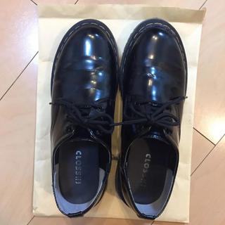 シマムラ(しまむら)のレースアップシューズ LL(ローファー/革靴)