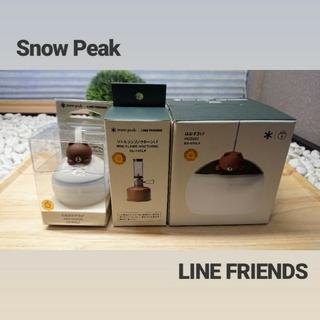 Snow Peak - 新品スノーピーク LINE FRIENDS ほおずき&たね&ノクターン3点set