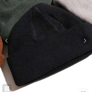 ウィゴー(WEGO)のショートニットキャップ(ニット帽/ビーニー)
