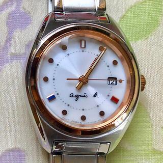 アニエスベー(agnes b.)のまちやん 様 😊  アニエス ㉓  ソーラー腕時計✨(腕時計)