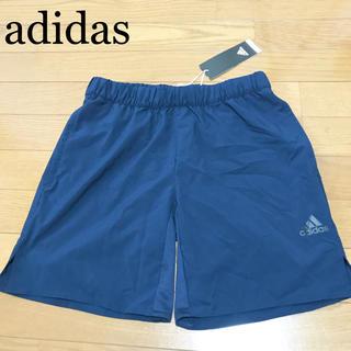 アディダス(adidas)の★未使用★adidas ショートパンツ メンズS 紺 ハーフパンツ ランニング(ショートパンツ)