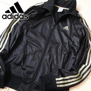 アディダス(adidas)のadidas Mサイズ アディダス メンズ ジャージ ジャケット ブラック(ジャージ)