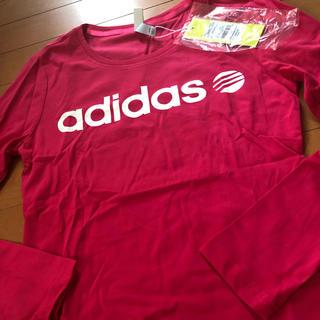 アディダス(adidas)のアディダス新品長袖(Tシャツ(長袖/七分))
