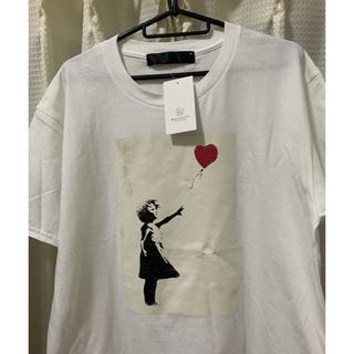 ビューティアンドユースユナイテッドアローズ(BEAUTY&YOUTH UNITED ARROWS)の<Banksy> SHURETTA Tシャツ L バンクシー シュレッター(Tシャツ/カットソー(半袖/袖なし))
