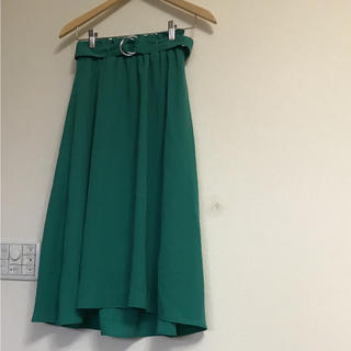 シマムラ(しまむら)の新品 タグ付き 春スカート ロングスカート M   値下げ!イレギュラーヘム(ロングスカート)
