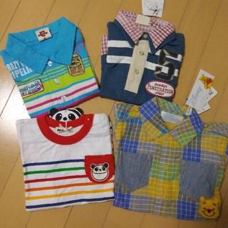 ドンキージョシー(Donkey Jossy)の未使用シャツ4枚セット 90 95(Tシャツ/カットソー)