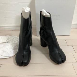 マルタンマルジェラ(Maison Martin Margiela)の【新品未使用】40(26.0) メゾンマルジェラ Tabi ブーツ ブラック(ブーツ)