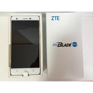 アンドロイド(ANDROID)のZTE BLADE V770(スマートフォン本体)