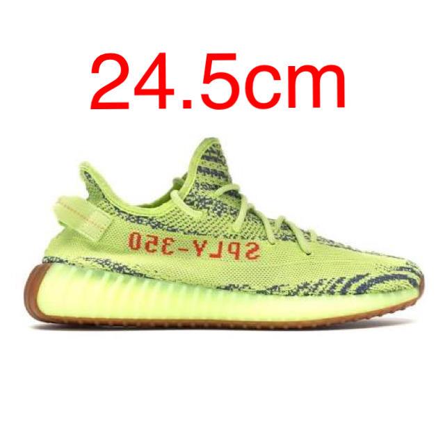 adidas(アディダス)のYeezy Boost 350 V2  Frozen Yellow 24.5 レディースの靴/シューズ(スニーカー)の商品写真