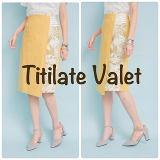 doll up oops - Titilate Valet ラップタイトスカート ティティレートヴァレット
