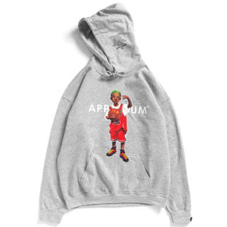 アップルバム(APPLEBUM)の【XL】APPLEBUM WORM BOY SWEAT PARKA (パーカー)