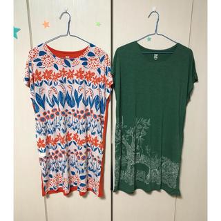 グラニフ(Design Tshirts Store graniph)の【新品】 グラニフ  ワンピース 2枚セット(その他)