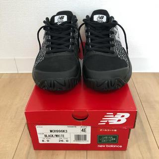 ニューバランス(New Balance)のニューバランス テニスシューズ メンズ 26cm 4E ブラック(シューズ)