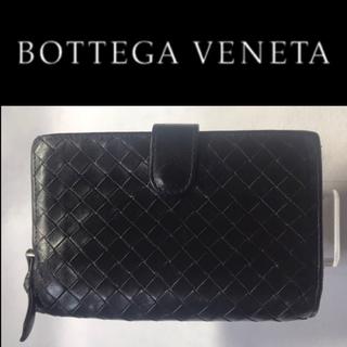 ボッテガヴェネタ(Bottega Veneta)の正規品 ボッテガヴェネタ  メンズ 折り財布 ブラック(折り財布)